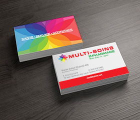 Business cards design and printing fmr creation conception montral creation design and printing of professional business cards montral laval colourmoves